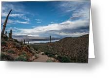 Lake Roosevelt Greeting Card