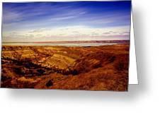Lake Sakakawea North Dakota Greeting Card