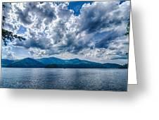 Lake Santeetlah In Great Smoky Mountains Nc Greeting Card