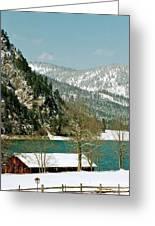 Lake Side Living Greeting Card