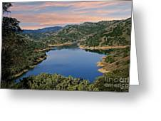 Lake Sonoma - California Greeting Card