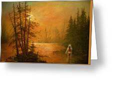 Lake Spirit Greeting Card