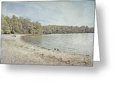 Lake St. Clair In Tasmania Greeting Card