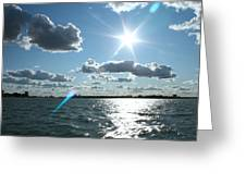 Lake St. Clair Sunset Greeting Card