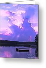 Lake Sunset II Greeting Card