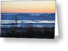 Lake Sunset Greeting Card