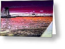 Lake Superior Bridge Greeting Card