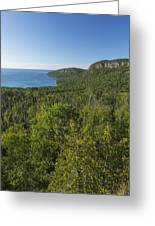 Lake Superior Grand Portage 2 Greeting Card