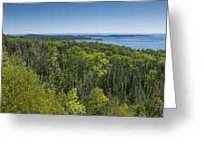 Lake Superior Grand Portage 3 Greeting Card
