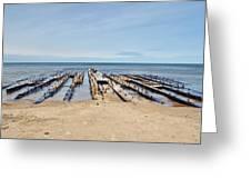 Lake Superior Shipwreck Greeting Card