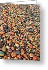 Lake Superior Stones 1 Greeting Card