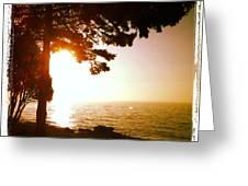 Lake Superior Sunrise Greeting Card