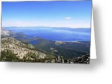 Lake Tahoe, California Greeting Card