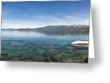 Lake Tahoe Calm Greeting Card