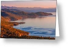 Lake Tahoe East Shore Greeting Card