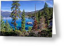 Lake Tahoe Eastern Shore Greeting Card