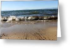 Lake Tahoe From South Beach Greeting Card