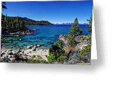 Lake Tahoe Springscape Greeting Card by Scott McGuire