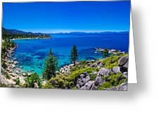 Lake Tahoe Summerscape Greeting Card