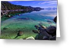 Lake Tahoe Waterscape Greeting Card