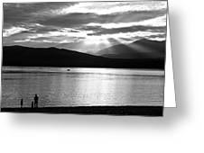 Lake Te Anau Greeting Card