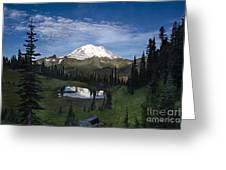 Lake Tipsoo Reflections Greeting Card
