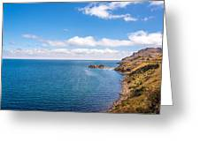 Lake Titicaca Coastline  Greeting Card