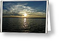 lake Tomiko Sunset Greeting Card by Dianne  Lacourciere