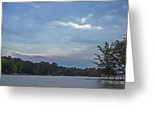 Lake Tranquility Greeting Card