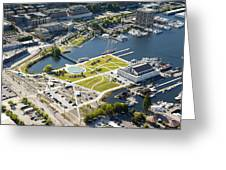 Lake Union Park And Museum Of History Greeting Card