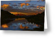 Lake View 2 Greeting Card