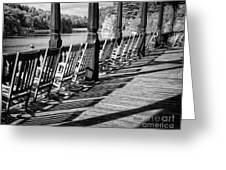 Lake View Greeting Card