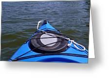Lake View From Kayak Greeting Card
