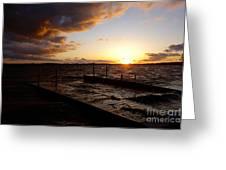 Lake Waconia Sunset Greeting Card