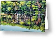 Lake Waterford Greeting Card