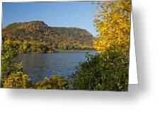 Lake Winona Autumn 9 Greeting Card