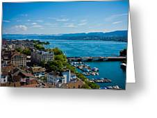 Lake Zurich Greeting Card