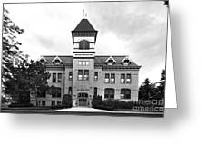 Lakeland College Old Main Hall Greeting Card by University Icons