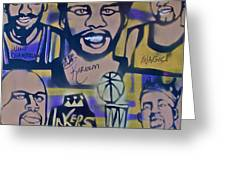Laker Love Greeting Card