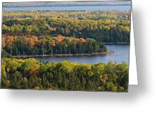 Lakes Of The Woods Greeting Card