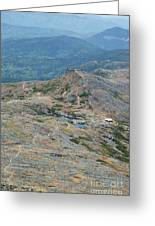 Lakes Of The Clouds - Mount Washington New Hampshire Usa Greeting Card