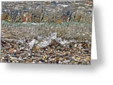 Lakeshore Rocks 4 Greeting Card