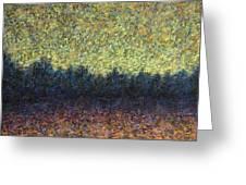 Lakeshore Sunset Greeting Card