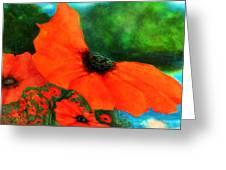 Lakeside Bloom Greeting Card