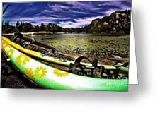 Lakeside Cruzzz Greeting Card by Scott Allison