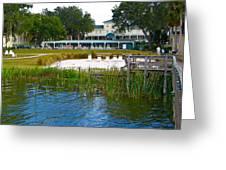 Lakeside Inn Greeting Card