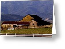 Lakeville Barn Greeting Card by Bill Gallagher