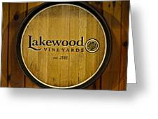 Lakewood Vineyards Greeting Card