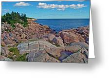Lakies Head In Cape Breton Highlands Np-ns Greeting Card