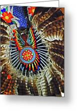 Lakota Feather Dance Greeting Card